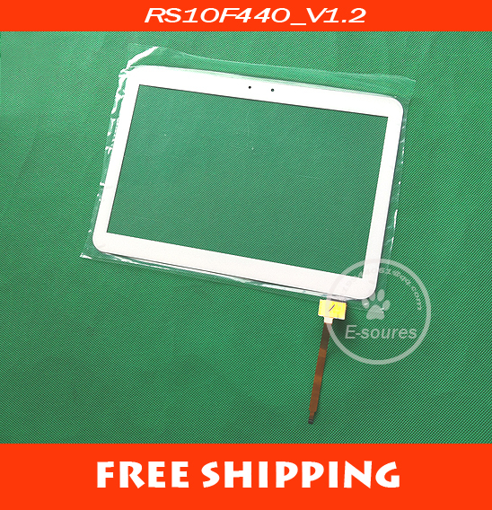 Original 10.1 Tablet PC RS10F440_V1.2 touch panel digitizer Touch Screen Outer Glass Free shipping