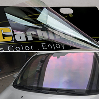 Carbins Chameleon Window Tint Film 85% VLT Neon Purple Stella Car Front UV Rejection Solar Protection Foil Guard