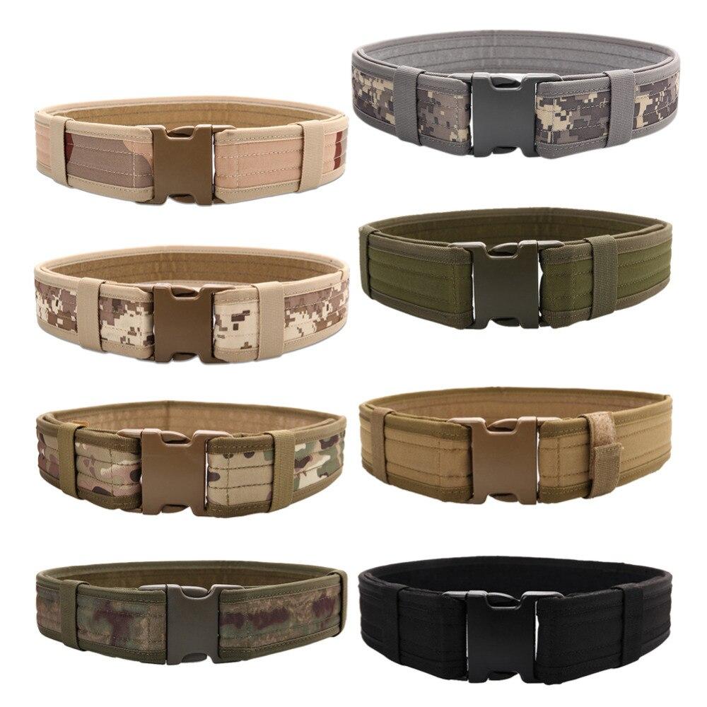 Prix pour Matériel militaire Tactique Ceinture Hommes Combat Extérieure Nylon Chasse ceintures pour femmes