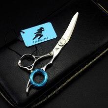 6 дюймов волос ножницы странные формы прическа Парикмахерские ножницы вверх изогнутые машинка для стрижки волос для парикмахера