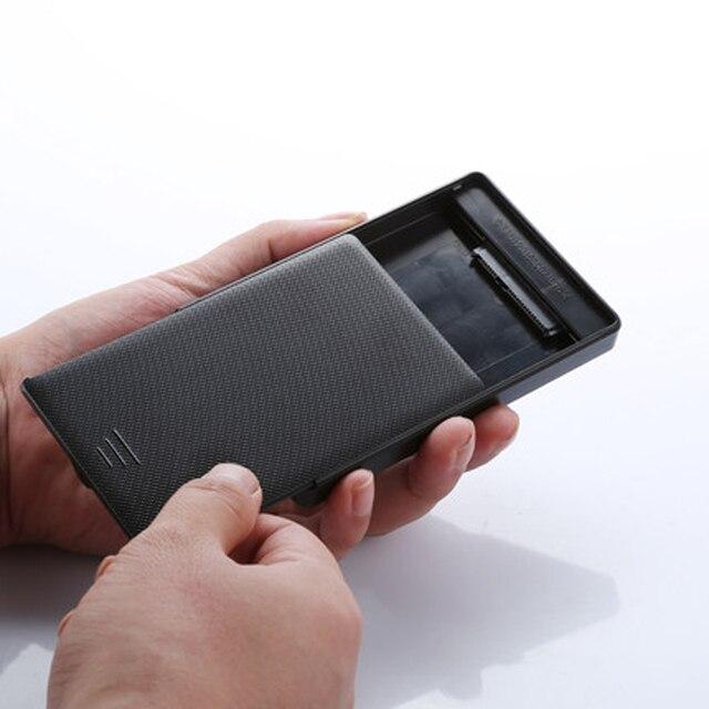 Sata para USB3.0 Tool-free fast velocidade de 2.5 polegadas SSD externo cerco/caso solid state drive para notebook/desktop HDD caixa de disco Rígido