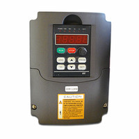 50Hz HY02D223B CNC spindle motor speed control 220v 2.2kw variable frequency drive inverter 0 220VAC 3 phase