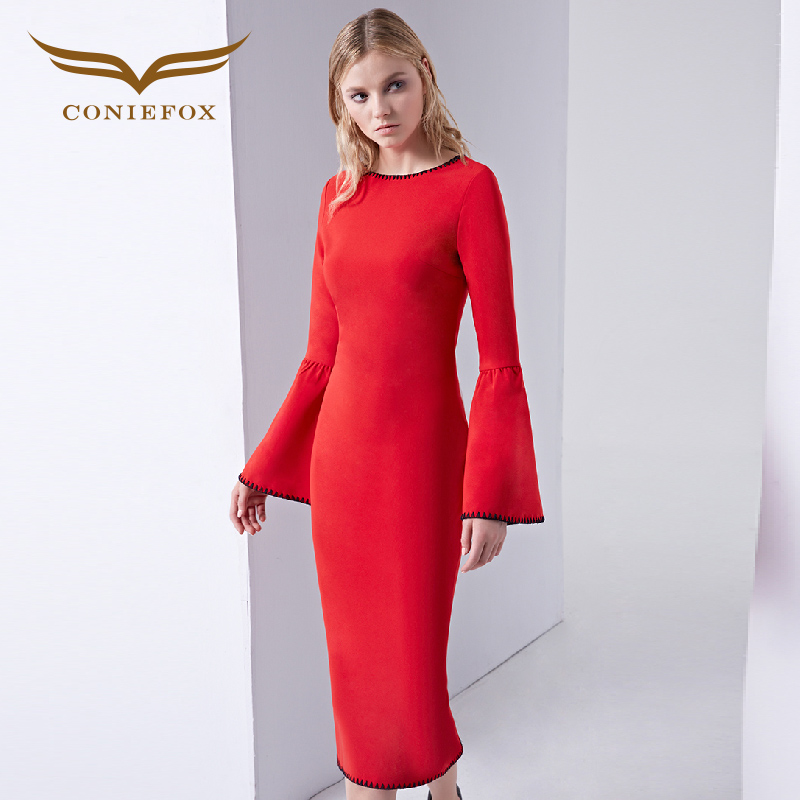 Compare Prices on Red Dress Long Sleeves Cocktail- Online Shopping ...