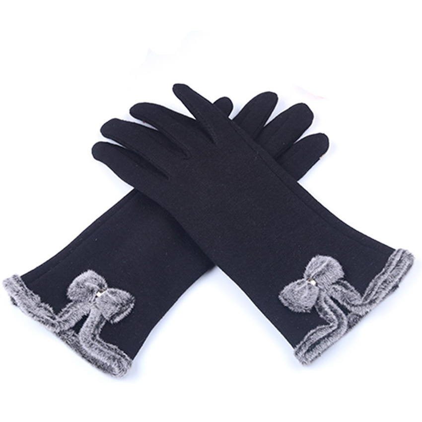 Gloves & Mittens: Luva female Gloves Winter for Fitness Women Guantes Mujer 2016 PhoneTouch Screen Outdoor Wrist Mittens Heated Gloves