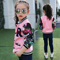 children clothing Spring girls trench coat children coat Hoodies Long outwear kids jackets Plaid casual fashion jacke