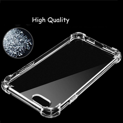 WolfRule For Case iphone 8 Plus Original Cover Soft Transparent TPU Protective Funda For Apple iPhone 7 Plus Anti knock Cases 4