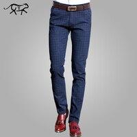 2017 New Pants Men Spring Autumn Fashion Slim Fit Casual Pants Men Straight Dress Business Suit