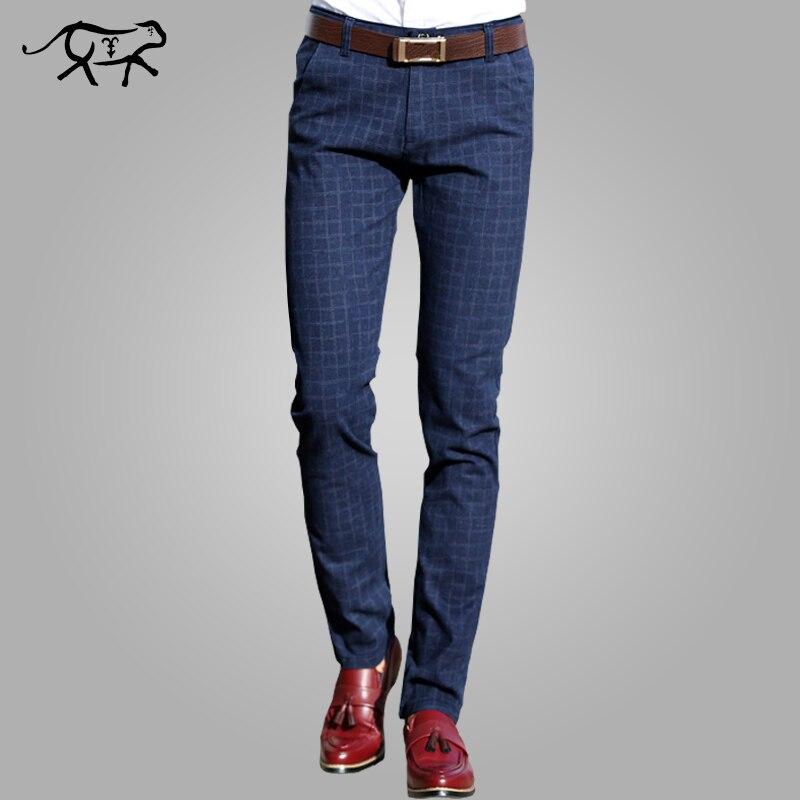 Новинка 2017 года Брюки для девочек Для мужчин Демисезонный мода Slim Fit Повседневные штаны для мужчин Для мужчин прямое платье Бизнес костюм Мотобрюки бренд Для мужчин трусов для мужчин