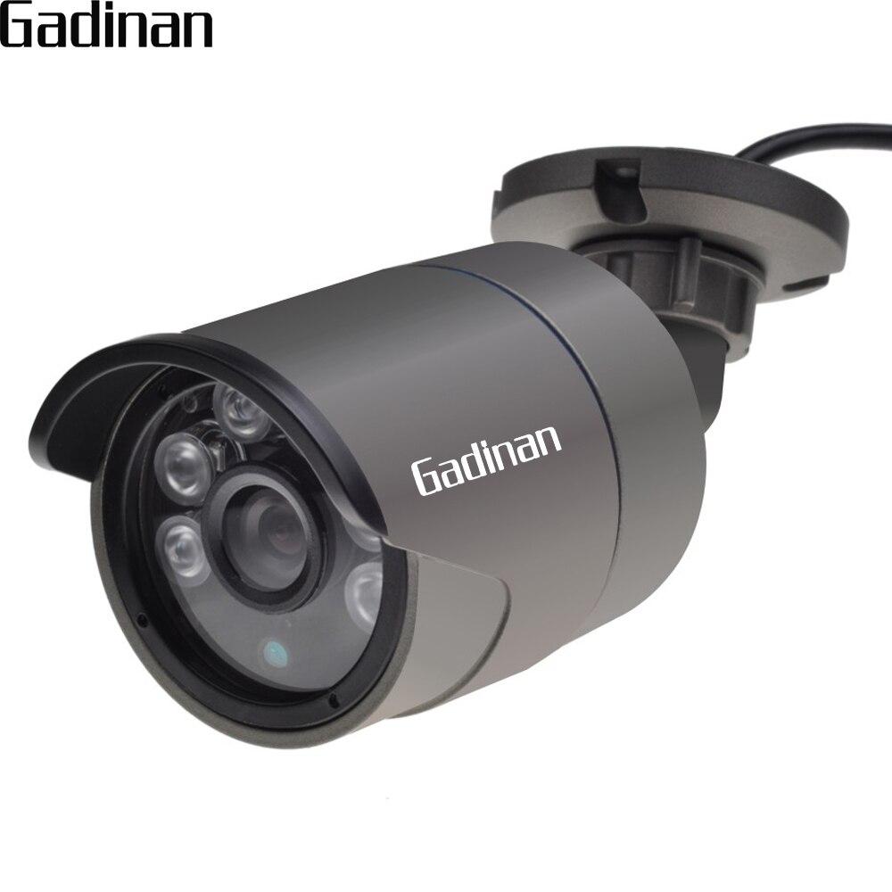 GADINAN Analógico 960 H 1000TVL CMOS Sensor De 2.8mm de Largura Ângulo de Câmera de Segurança CCTV Câmera Ao Ar Livre Bala De Metal À Prova D' Água IP67