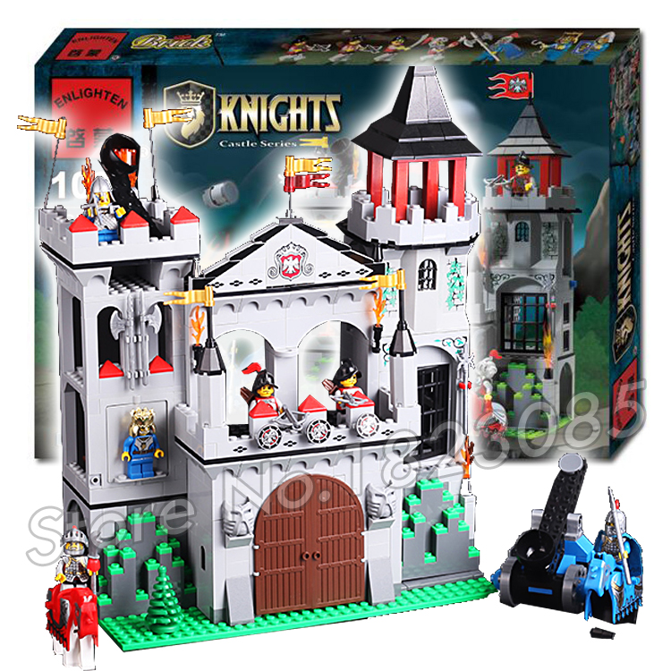 568pcs the Eagle Castle Medieval Lion Knight Series Model Kits Building Blocks Bricks Gift Toys Compatible With Lego 10551 elves ragana s magic shadow castle building blocks bricks toys for children toys compatible with lego gift kid set girls