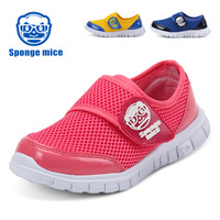 Europe American Mesh Large Sole Children S Summer Sport Shoes Sneakers Breathable Sweat Absorption Red Yellow