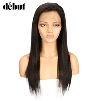 Debut Hair 360 Lace Wig Straight Remy Human Hair Wigs For Women 360 Lace Frontal Wig Pre Plucked With Baby Hair Free Shipping