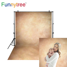 цена на Funnytree Thin Vinyl cloth photography Backdrop yellow Indoor photography background cloth computer print customized MH-015