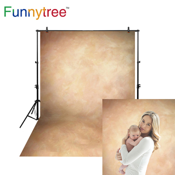 Funnytree Thin Vinyl cloth photography Backdrop yellow Indoor photography background cloth computer print customized MH-015