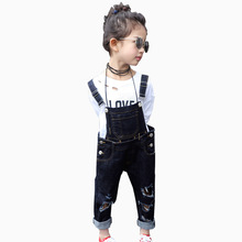 Jeans Bimba Broken Hole Jeans Pants 2017 New Arrival Toddler Boys Girls Ripped Jeans NZK0006