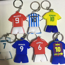 Soccerwe 2018 Season Football Star Kit Doll Pogba Messi Morata PVC Figurine Lovely Dropshipping Gift Birthday Wholesales Choice(China)