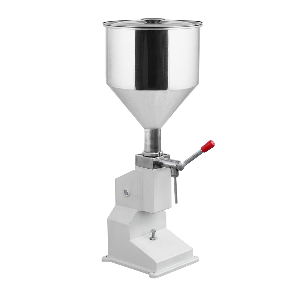 New Manual Filling Liquid Paste Machine (5~50ml) for Chemical Section zonesun pneumatic a02 new manual filling machine 5 50ml for cream shampoo cosmetic liquid filler