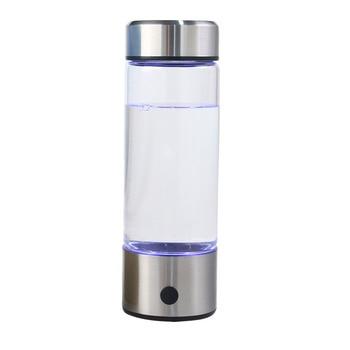 420ML Hydrogen Water Generator Alkaline Maker Rechargeable Portable for pure H2 hydrogen-rich water bottle electrolysis Appliances Electronics Small Kitchen Appliances Water Purifier