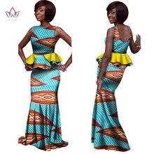 Hitarget 2019 New African Skirt Set for Women Dashiki skirt Elegant Sleeveless Plus Size 5XL Kanga Clothing WY1076