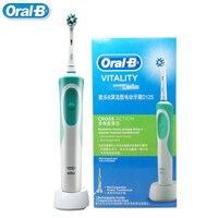 Szczoteczka elektryczna Oral B Vitality szczoteczka do zębów dla dorosłych szczoteczka do zębów głowice importowane z niemiec w Elektryczne szczoteczki do zębów od AGD na