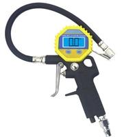 Digital Tire Pressure Gauge For Inflated Deflated Tire Repair Tools Pressure Gun High Precision