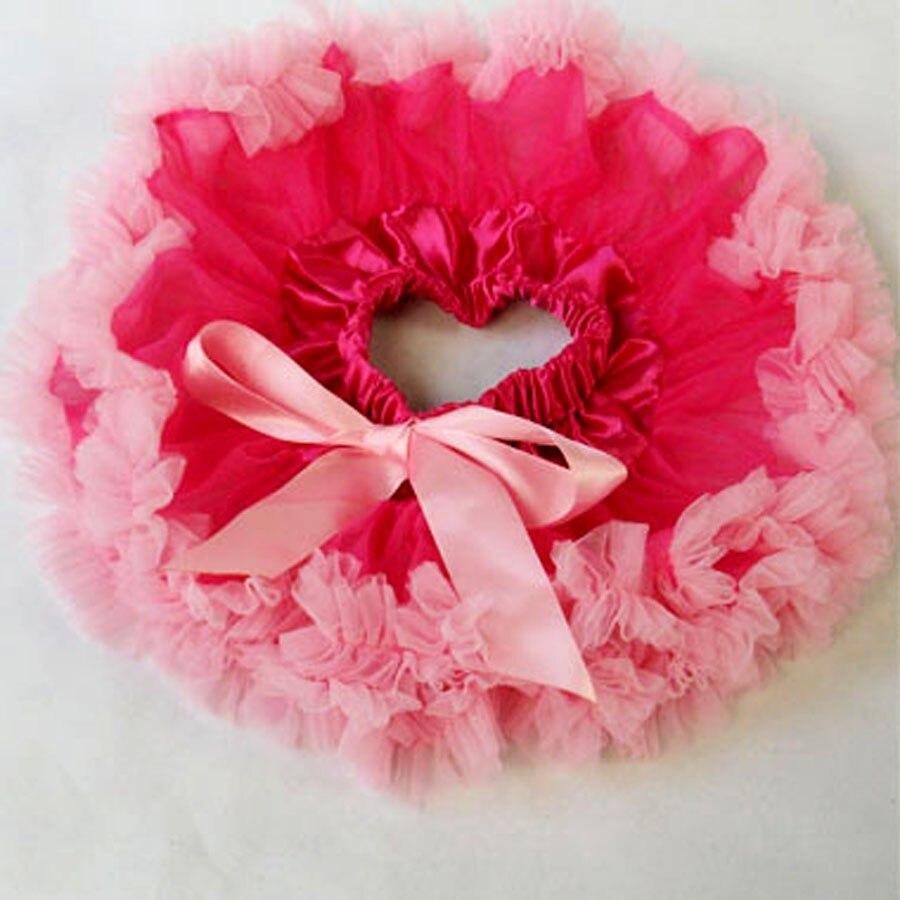 Настроить юбка-пачка новорожденных юбка-пачка ярко-розовый цвет и фиолетовый Pettiskirts Детские юбка-пачка
