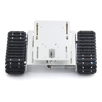 JMT DIY Intelligent Crawler Robot Chassis Aluminium Alloy Tank Car Chassis Bottom Toy for DIY RC Robot Car Spare Parts