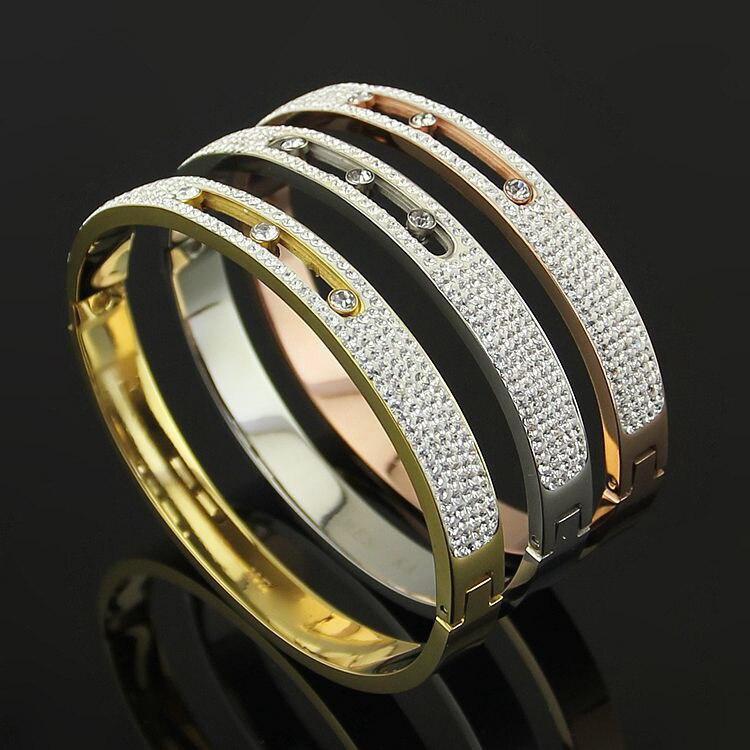 Tyme rose gold bracelet Charm Bracelets Carter love bracelets & bangles for women H Bangle Men Jewelry Christmas gift