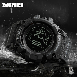 Image 4 - SKMEI Brand Mens Digital Watch Hours Pedometer Calories Men Watch Altimeter Barometer Compass Thermometer Weather Sports Watches
