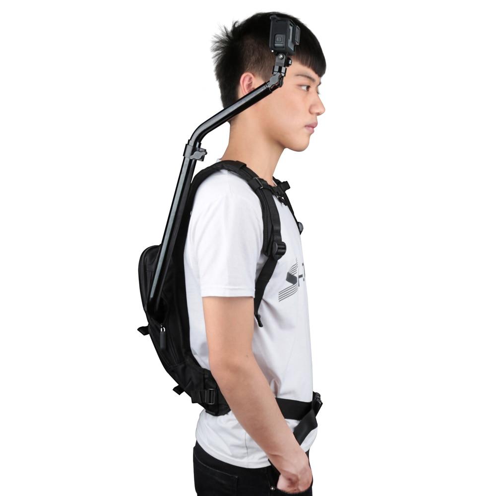 Image 5 - SHOOT Motorcycle Bicycle Selfie Backpack Men Camera Backpack Travel Bag Multifunctional Waterproof Backpack Cam Bag for GoPro 7-in Camera/Video Bags from Consumer Electronics