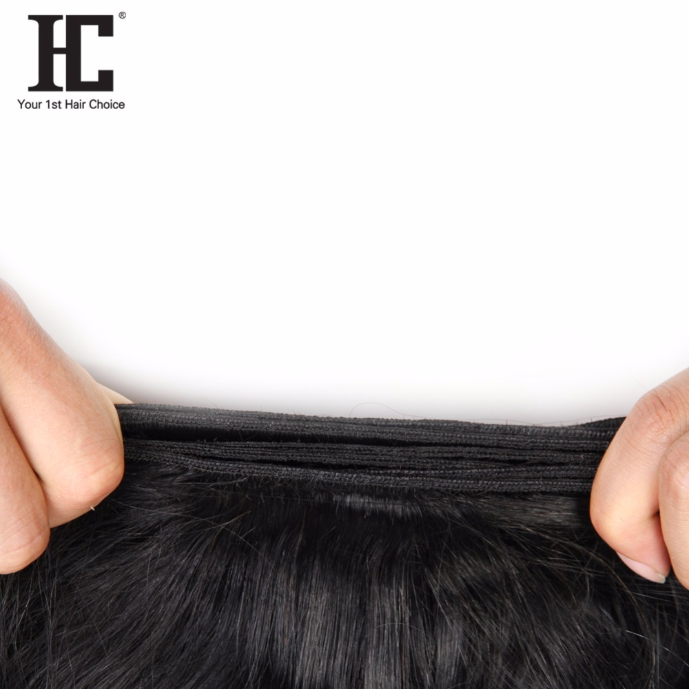 HC Peruvian Body Wave Hair Weaves 4 Bundles Deals 8-28Inch 100% Human Hair Bundles Natural Color Nonremy Hair Extensions Can Dye