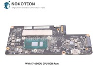 NOKOTION Brand New For Lenovo Yoga 900 13isk Laptop Motherboard FRU 5B20K48435 BYG40 NM A411 SR2EZ I7 6500U 8GB RAM Memory