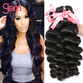 Peruvian Loose Wave Hair 3pcs lot Peruvian Virgin Hair Loose Wave Remy Human Hair Weave Loose Wave Virgin Peruvian Hair Bundles