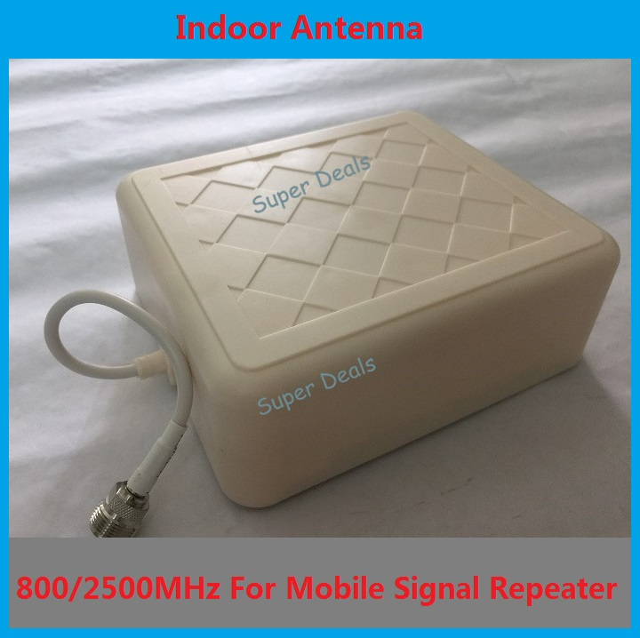 High gain Indoor directional panel antenna with 30cm cable for 3g / wcdma / gsm / dcs mobile phone signal repeater booster