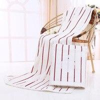 Novo 100% algodão toalha de banho faixa de veludo toalhas de praia toalha de banho marca toalha para adulto tamanho 70 * 140 cm frete grátis