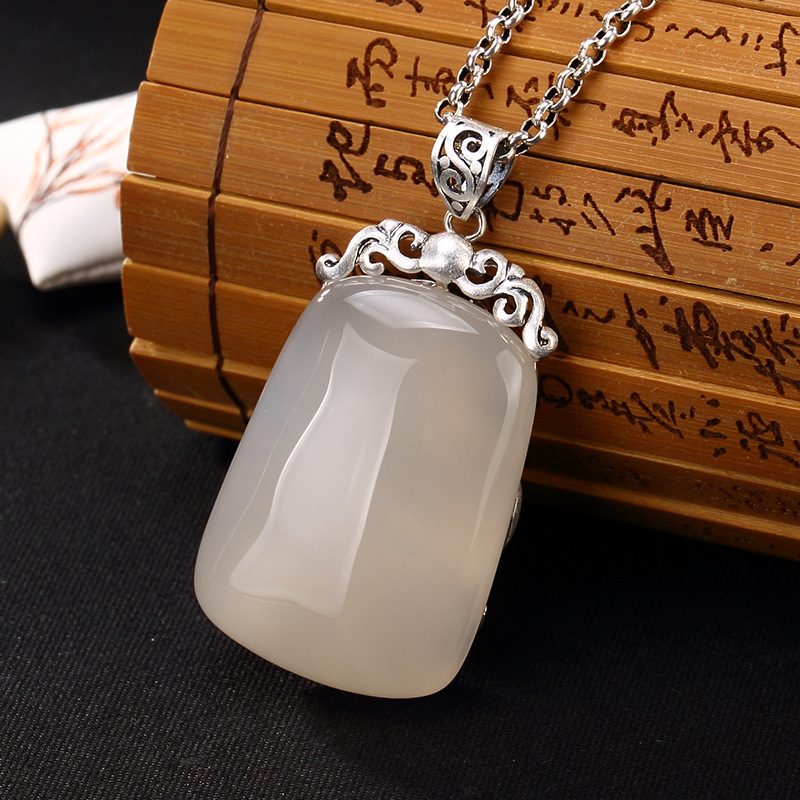 2018 Top Fashion Sale Agate S990, Peacock, Peacock Cloud, Chalcedony, Agate, Long Silver, Chain, Sweater Pendant Wholesale. 2018 top fashion sale agate s990 peacock peacock cloud chalcedony agate long silver chain sweater pendant wholesale