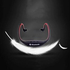 Image 5 - HOMEBARL BS19C Bluetooth 4,0 Sport Drahtlose Neck Kopfhörer Ohrhörer Headset + 8GB 16GB Micro SD Karte/FM radio/Mic PK ZK S9