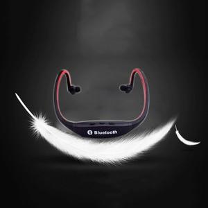 Image 5 - HOMEBARL BS19C Bluetooth 4.0 Sport Wireless Neck Headphones Earphones Headset + 8GB 16GB Micro SD Card / FM Radio / Mic PK ZK S9