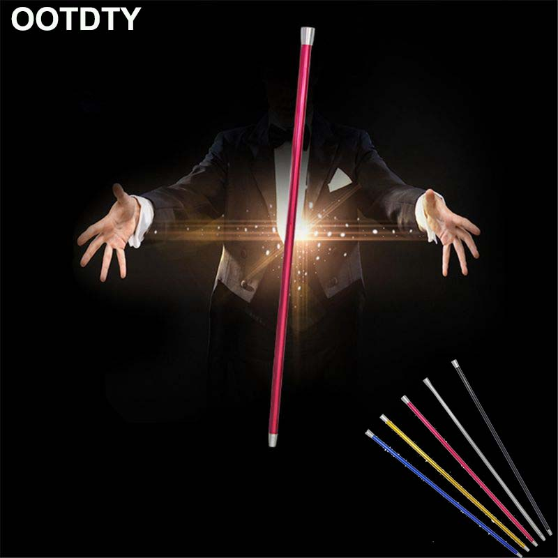 Aluminum Dancing Cane Stick Stage Street Illusions Gimmick Floating Magia Wand Magic Tricks