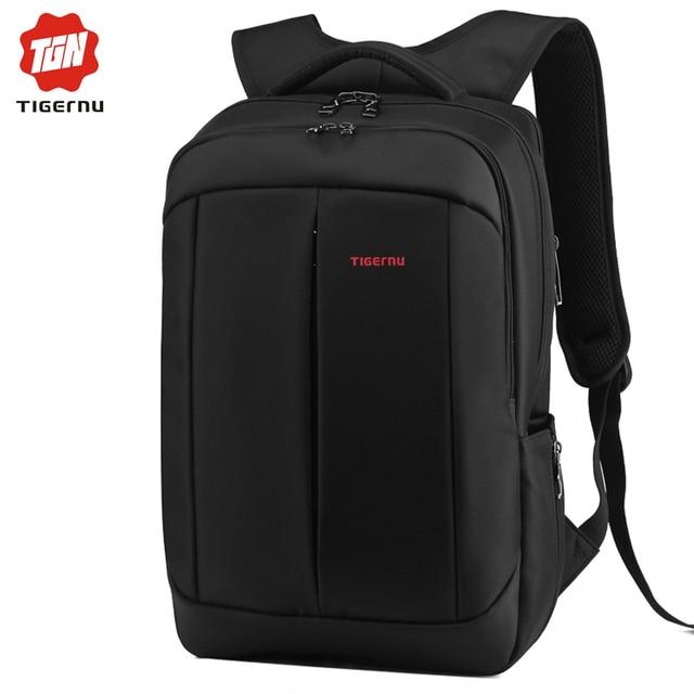7f21bc3426 Backpack Men Travel Bags Schoolbag Compact Waterproof Black Male Mochila  Double Shoulder Bag Backpack for 14-17 Inch Laptop