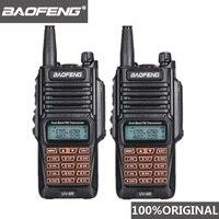 מכשיר הקשר 2pcs מקורי Baofeng UV-9R מכשיר הקשר Portable IP67 רדיו חובב Waterproof UHF VHF UV 9R Woki טוקי ציד CB רדיו UV 9R (1)