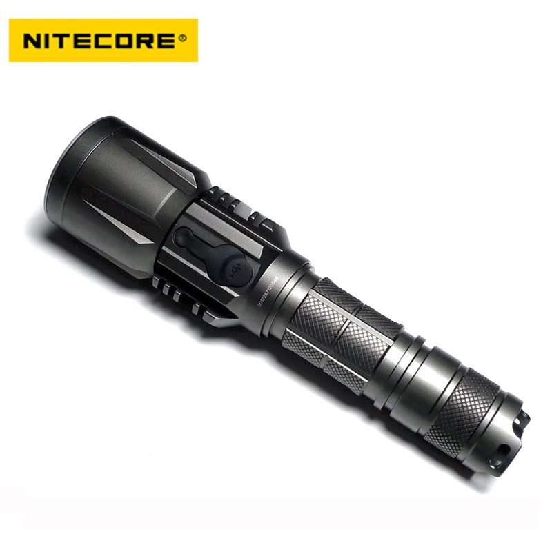 NITECORE P25 Cree XM-L2 T6 LED Flashlight Waterproof Rescue Search Torch by 18650 Battery sale nitecore 1000lumen mh12 mh12w xm l2 u2 led rechargeable flashlight search rescue portable torch 18650 battery free shipping