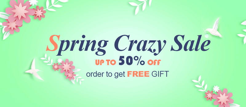 Spring Crazy Sale XQ