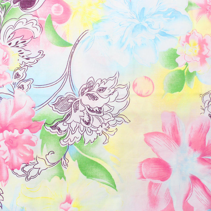 TQ 160cm*50cm hot mix purple Series Floral Cotton Fabric for Sewing Quliting Patchwork Tilda Doll Cloth Scrapbook Material D8