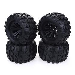 2019 New 4PCS 125mm 1/10 Monster Truck Tire & Wheel Hex 12mm For Traxxas Tamiya Kyosho HPI HSP Savage XS TM Flux LRP