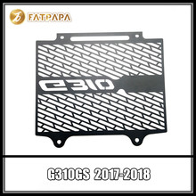 G310 GS Motorcycle Accessories Stainless Steel Radiator Protection FOR BMW G310GS 2017 2018