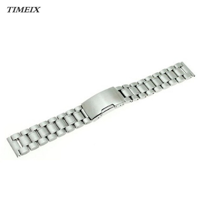 22mm Stainless Steel Bracelet Watch Band Strap Straight End Solid Links High Quality Wholesale & Free Shipping,Dec 23*40