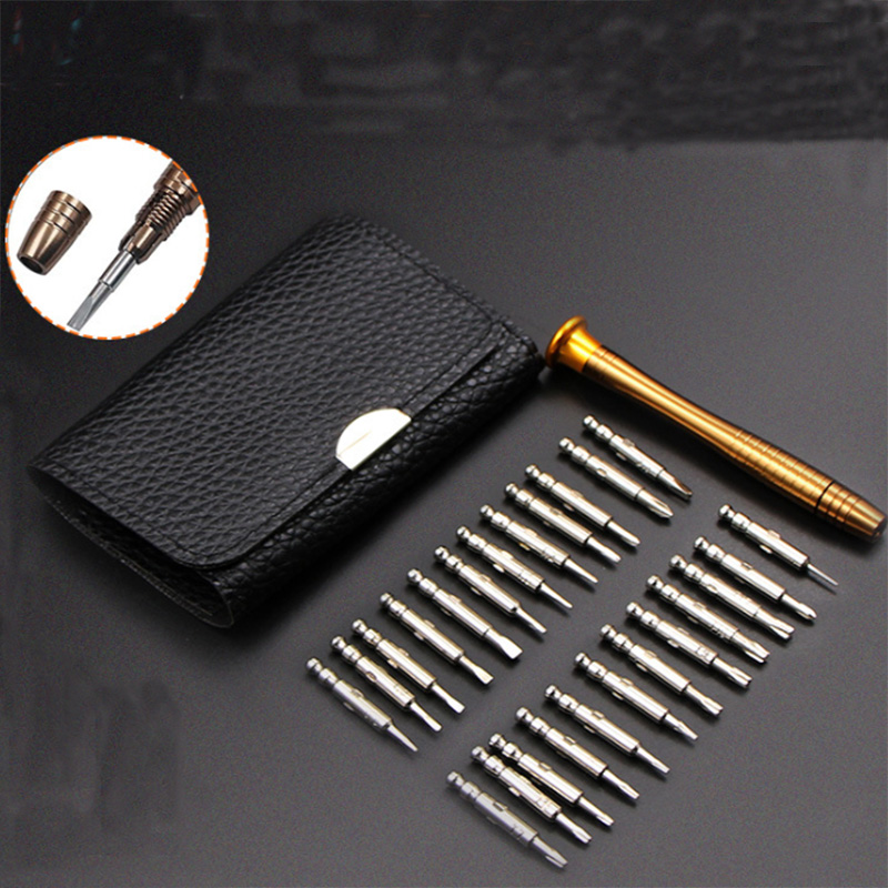 Screwdriver Set 25 13PCS set Multifunctional Opening Repair Tool Set Precision Screwdriver For Phones Tablet PC in Hand Tool Sets from Tools