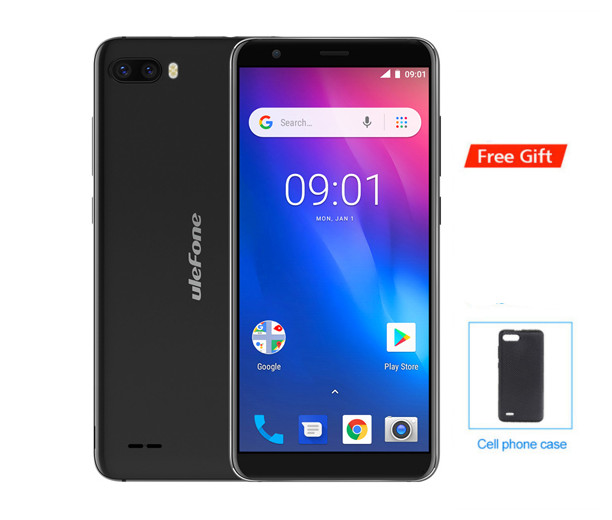 2018 Ulefone S1 Pro Mobile Phone 5.5 18:9 MTK6739 Quad Core 1GB RAM 16GB ROM 8MP+2MP Face Unlock Android 8.1 4G LTE Smartphone2018 Ulefone S1 Pro Mobile Phone 5.5 18:9 MTK6739 Quad Core 1GB RAM 16GB ROM 8MP+2MP Face Unlock Android 8.1 4G LTE Smartphone