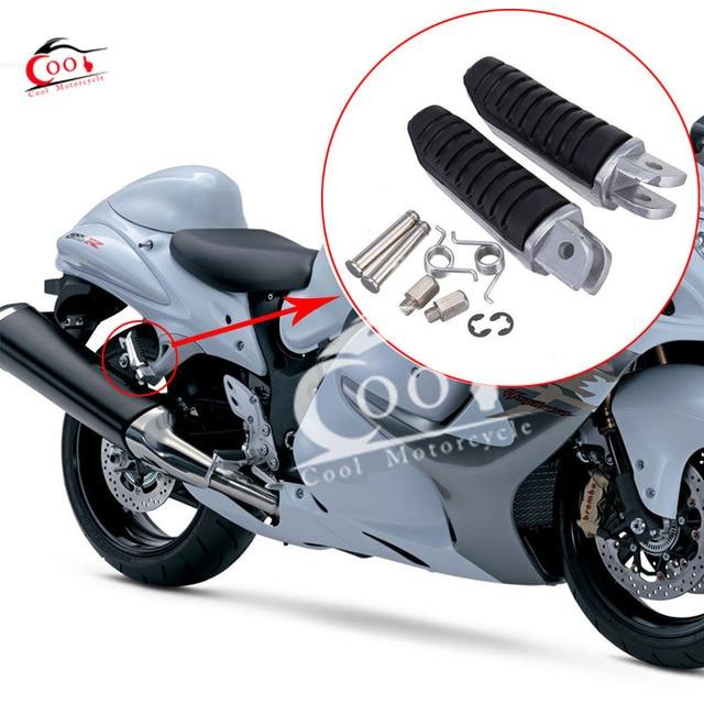 Aluminum Front Footrest Foot peg Fits For Suzuki V Strom 650 VStrom 1000 DL650 DL1000